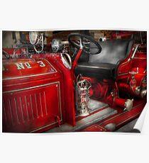 Fireman - Fire Engine No 3 Poster