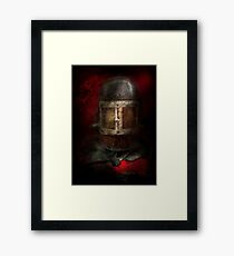 Fireman - The Mask Framed Print