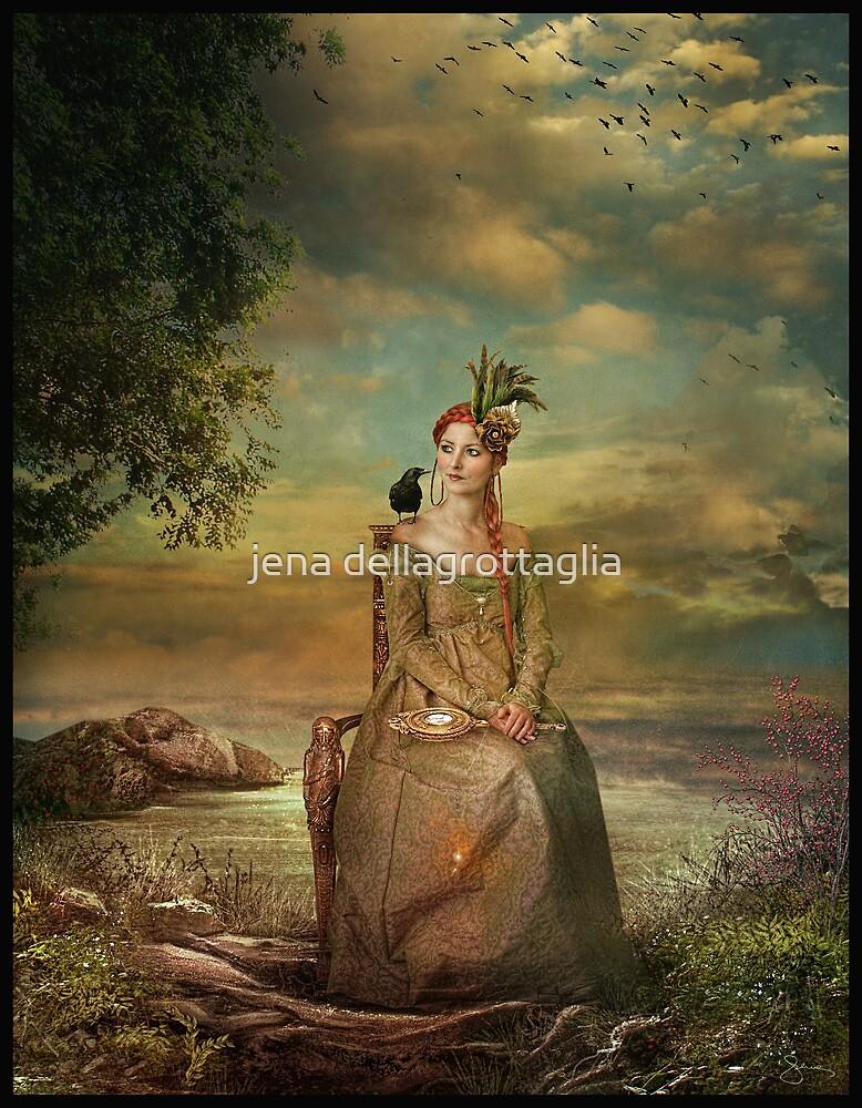 Lady In Waiting by jena dellagrottaglia