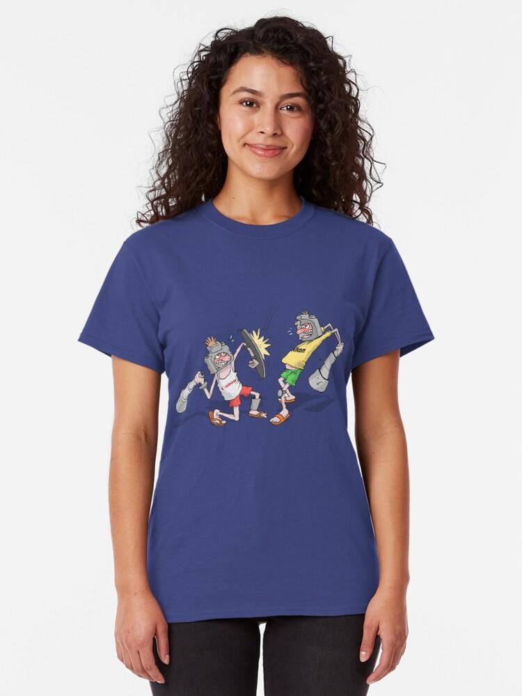 Alternate view of Canikon Wars Gladiators Classic T-Shirt