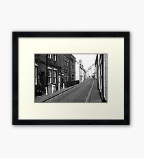 Henrietta Street, Whitby Framed Print