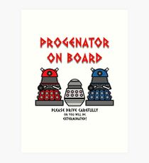 Prigenator Onboard Art Print