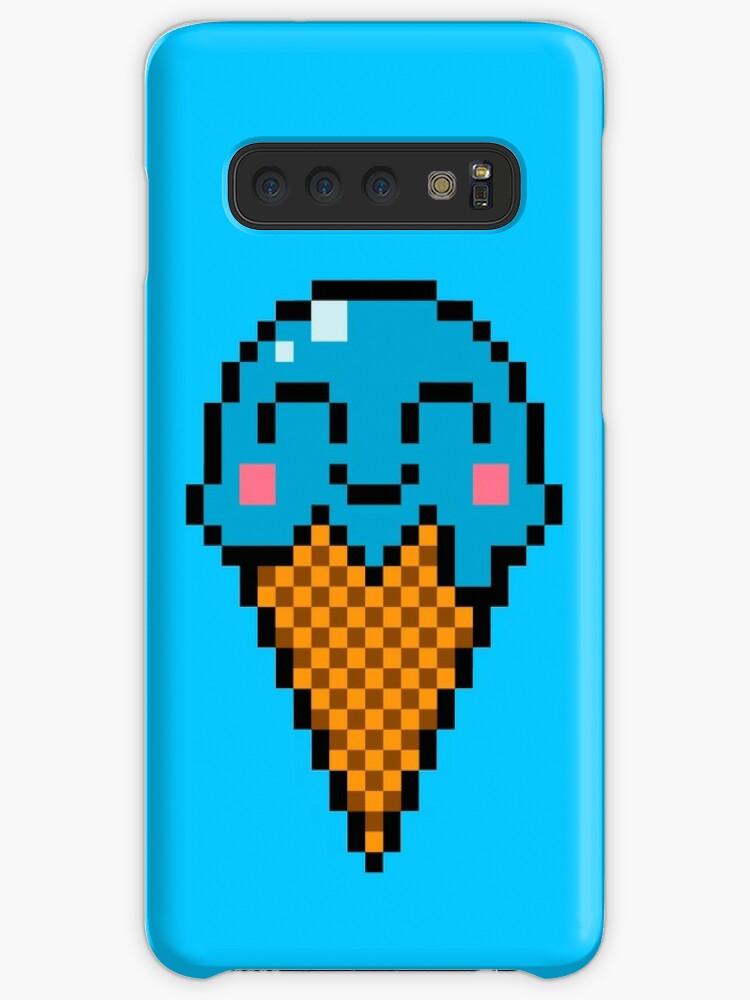 Crème Glacée Art Pixel Coque Et Skin Adhésive Samsung Galaxy