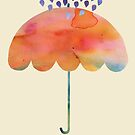 Rainbow Umbrella by Kanika Mathur  Design