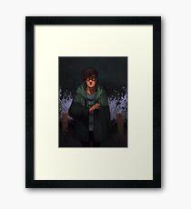 Overcome Framed Print