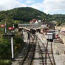 LLangollen railway station by Peter  Thomas