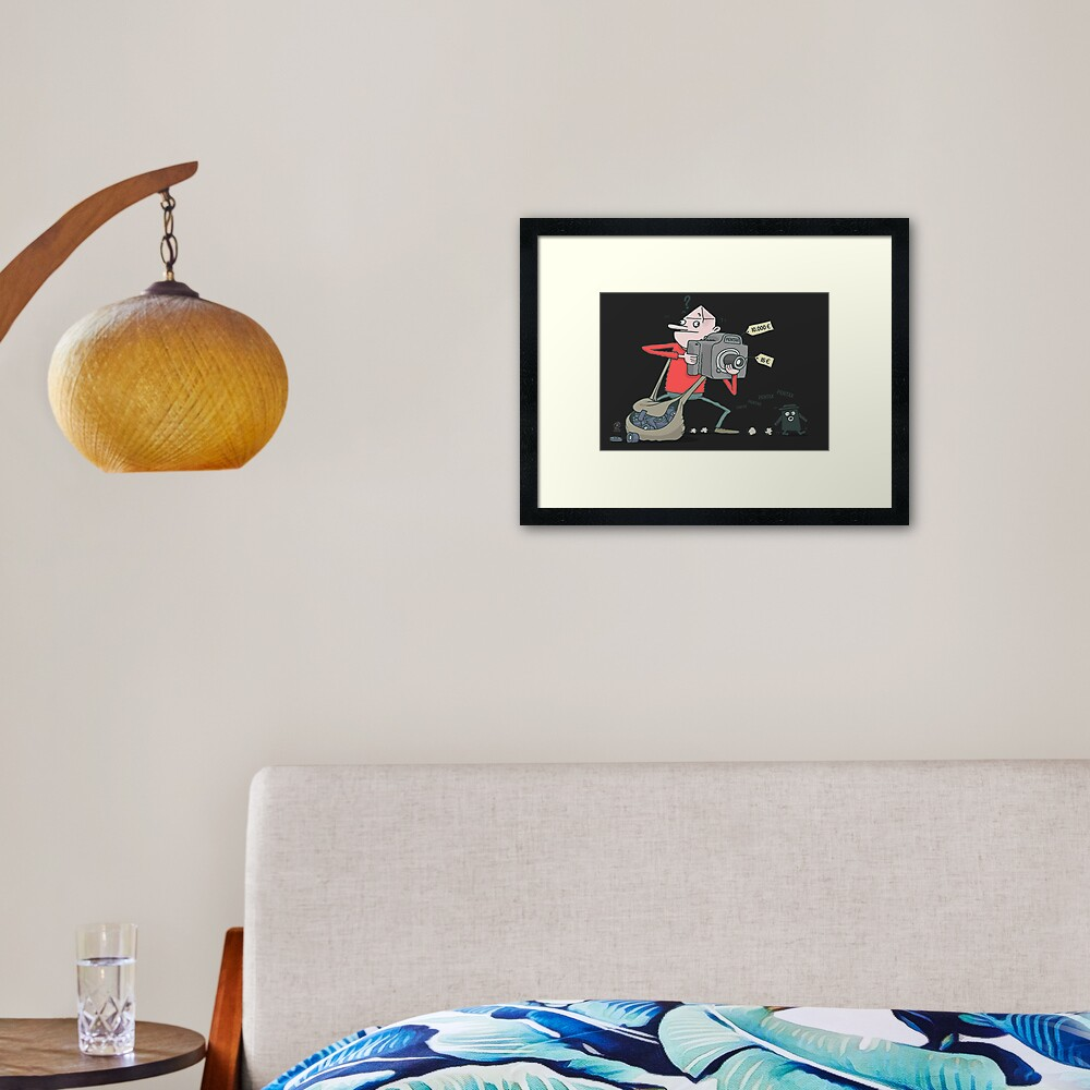 Pentaxian photographer Framed Art Print