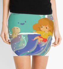 Floating by in Marble Space!-no lines Mini Skirt