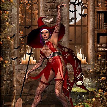 Cast a Halloween spell  by Fiery-Fire