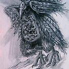 Momma Bird by evon ski
