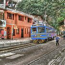 The End of the Line - Aguas Calientes, Peru by Edith Reynolds
