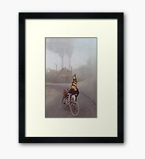M Blackwell - Contamination?  What contamination? Framed Print