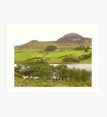 A View Of Rural Peace In Ireland Art Print