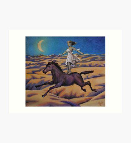 Dream of a Flying Horse Art Print