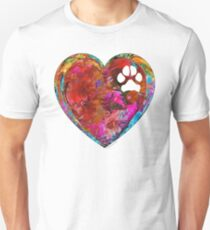 Dog Art - Puppy Love 2 - Sharon Cummings Unisex T-Shirt