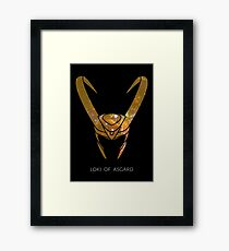Loki of Asgard Framed Print