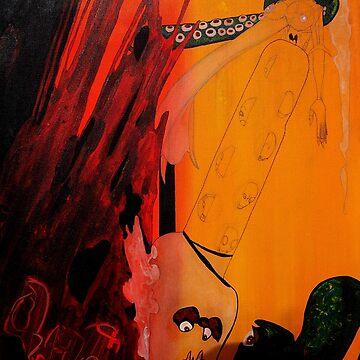 """Blueprint Octopus"" by samsydonia"