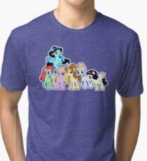 Ponified Princess Tri-blend T-Shirt