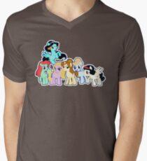Ponified Princess Men's V-Neck T-Shirt