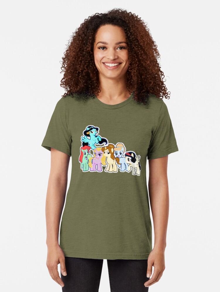 Alternative Ansicht von Pontified Prinzessin Vintage T-Shirt