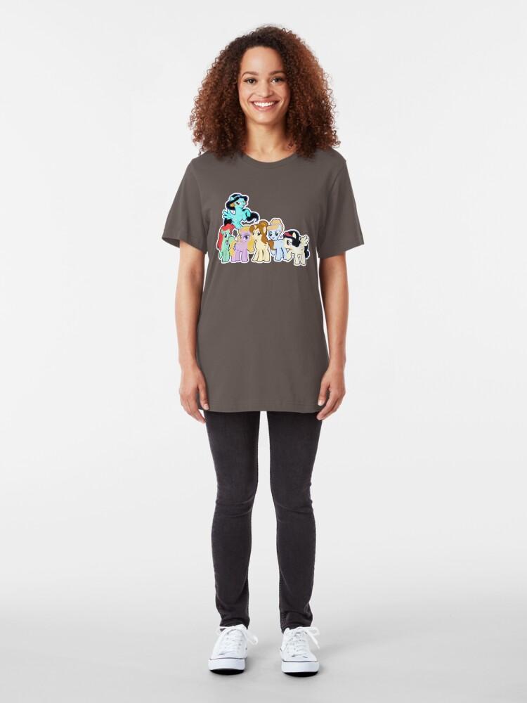 Alternative Ansicht von Pontified Prinzessin Slim Fit T-Shirt