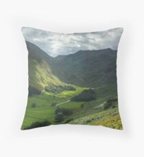 The Head Of Grisedale Throw Pillow