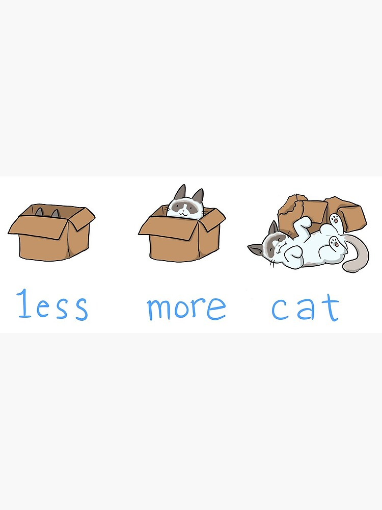 Less is more by deniseyu