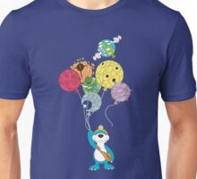 [ROSE] Planetary Balloons T-Shirt