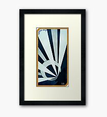 Major Arcana 18 - The Moon Framed Print