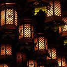 Henjokutsu Cave lamps, Japan by cupofmanatee