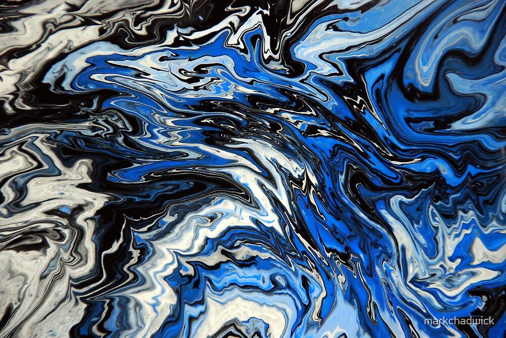 Blue Acrylic Overflow by markchadwick