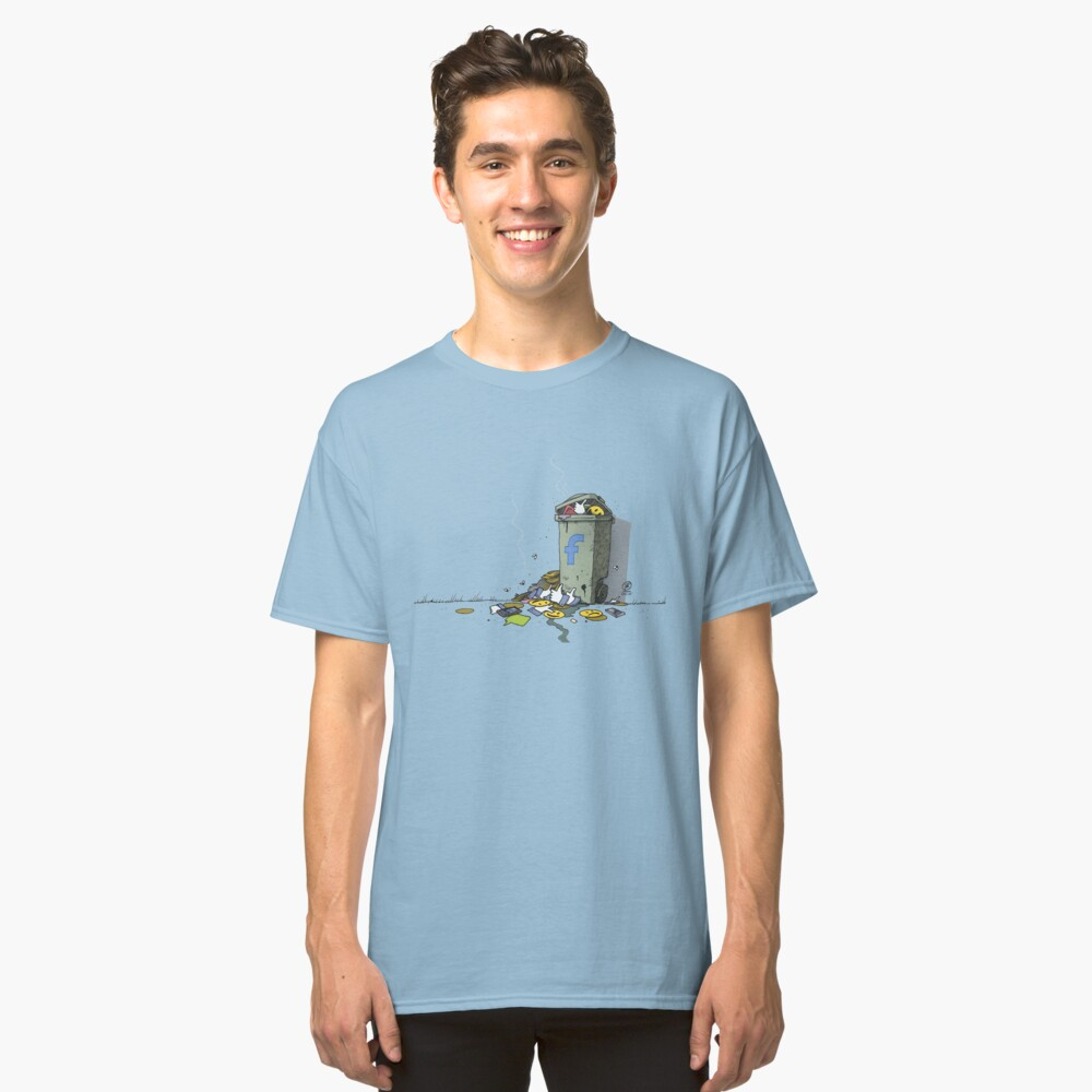Landfill of anxieties Classic T-Shirt