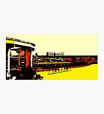 Freeways - Porland OR. Heart Photographic Print