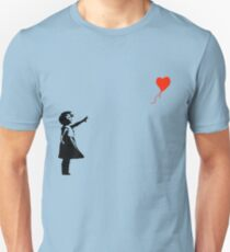 Banksy - Little girl with red balloon Unisex T-Shirt