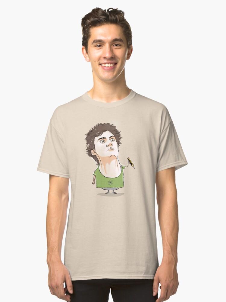 Alternate view of Oscar Sanchez Requena, the author Classic T-Shirt