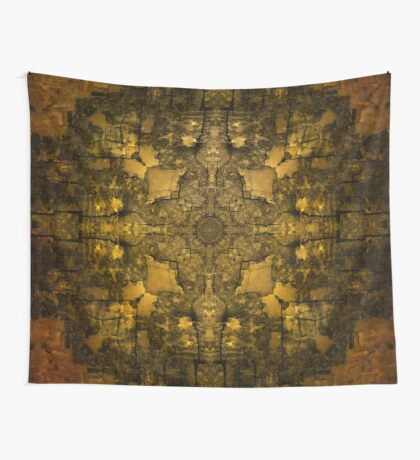 Gold Armour Wall Tapestry
