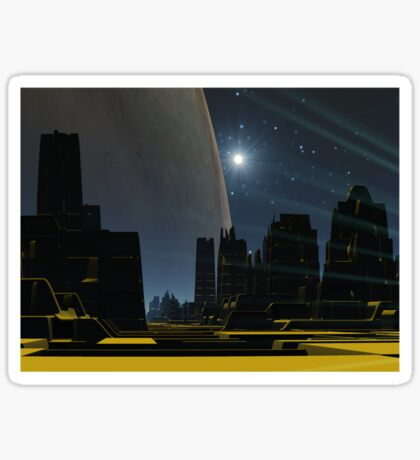 Starlight City Sticker