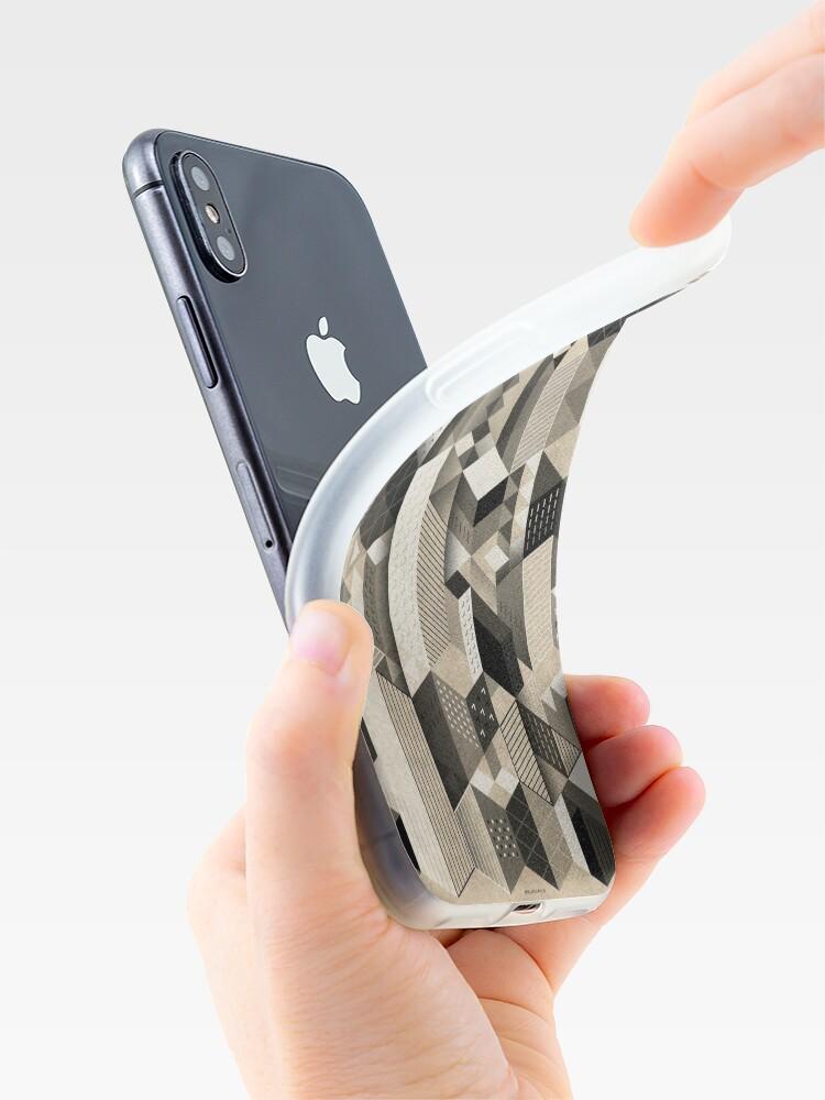 Alternative Ansicht von Skyscrapercity iPhone-Hülle & Cover