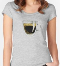 Espresso Women's Fitted Scoop T-Shirt
