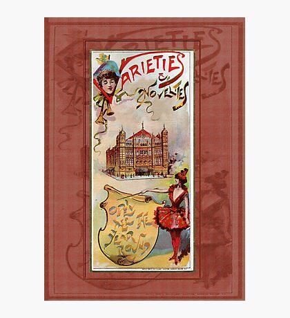 Varieties & Novelties Photographic Print