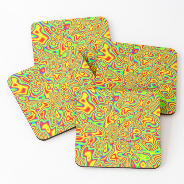 Want colors? Coasters (Set of 4)