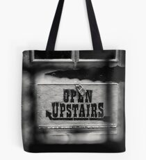 Closed Downstairs Tote Bag