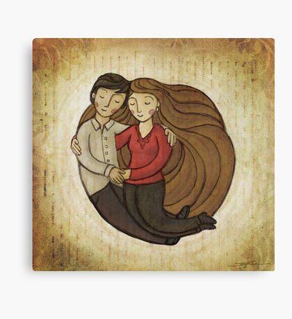 Loving Embrace Canvas Print