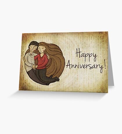 Happy Anniversary Card Greeting Card