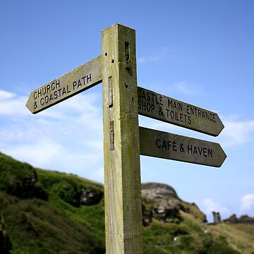 Tintagel Sign by GCooles