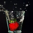 Strawberry Splash by Phillip M. Burrow