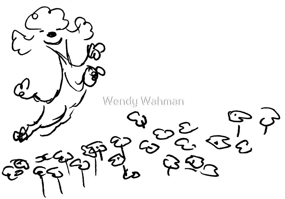 Happy dance by Wendy Wahman
