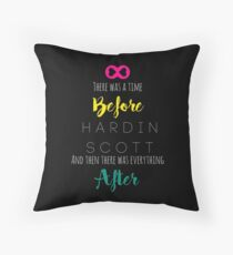 After - Hardin Scott - Rainbow Throw Pillow