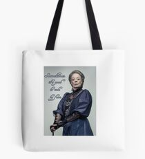 Lady Violet Quotes Tote Bag