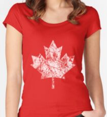 Canada Established 1867 Anniversary 150 Years Women's Fitted Scoop T-Shirt